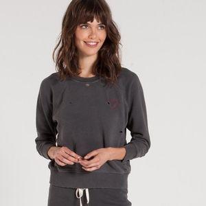 n:Philanthropy grey sweatshirt with heart